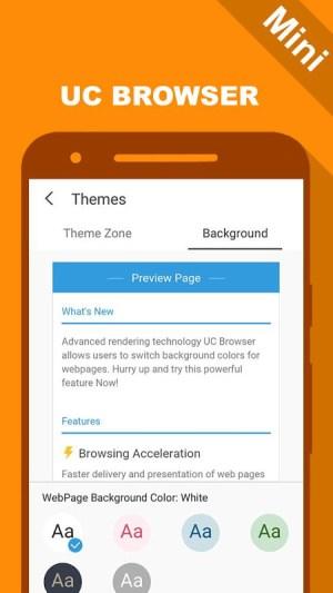 UC Mini - UC Browser New Guide 1.1 Screen 3