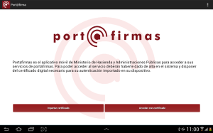 Android Port@firmas movil Screen 3