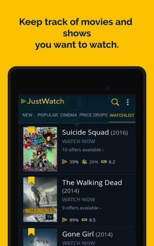 JustWatch - Search Engine for Streaming and Cinema 2.5.13 Screen 21
