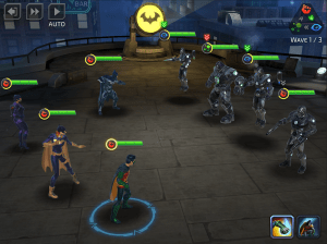 Android DC Legends: Fight Superheroes Screen 1