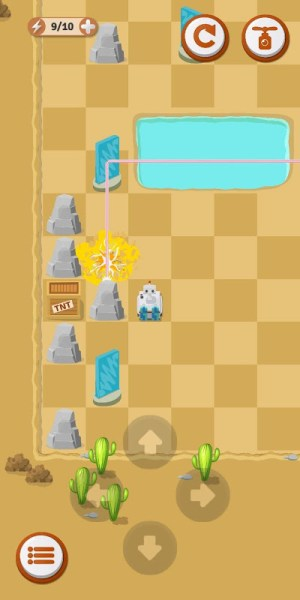 Laser Odyssey - Reflection Puzzle 1.02c Screen 4