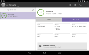 Android BitTorrent® Pro - Official Torrent Download App Screen 3