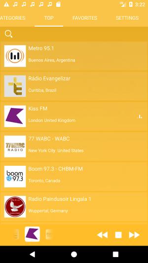 Android Sri Lankan Radio LIve - Internet Stream Player Screen 7