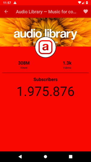 Subscribers Counter 1.5.4 Screen 7