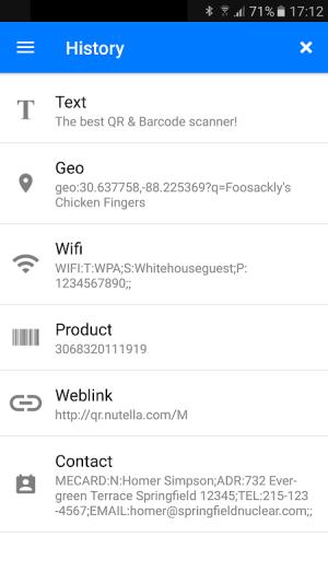 QR & Barcode Scanner 1.6.6 Screen 5