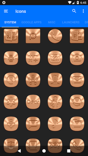 Android Sepia Icon Pack ✨Free✨ Screen 6