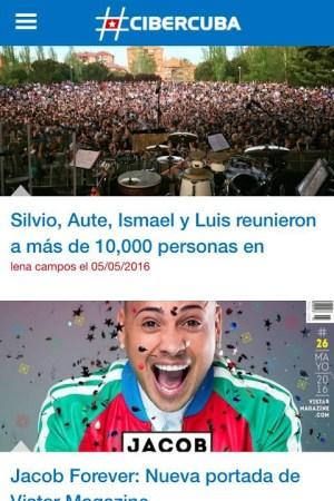 CiberCuba - Noticias de Cuba 1.6 Screen 2