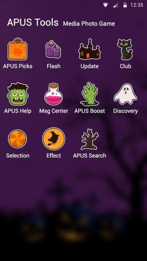 Android Happy Halloween night free theme🎃 Screen 2