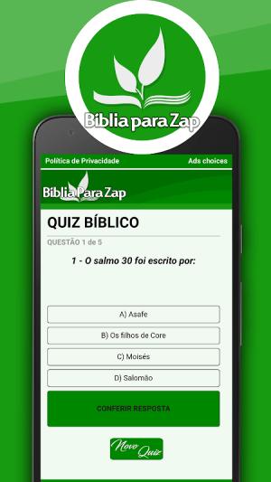 Bíblia para Zap 27.0 Screen 9