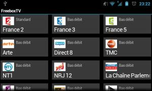 Android FreeboxTV Screen 2