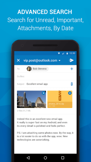 Email App for Outlook & others 6.8.0.24294 Screen 2