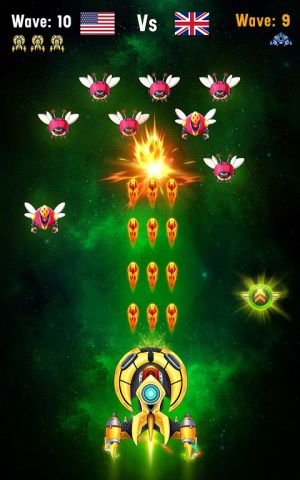 Space shooter - Galaxy attack - Galaxy shooter 1.407c Screen 5