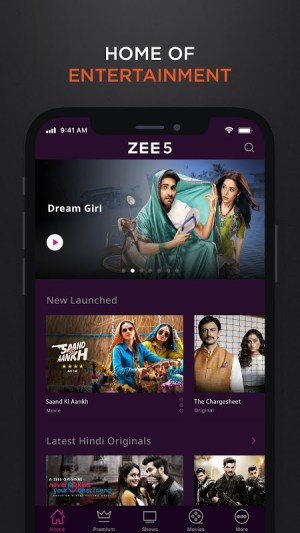 Android ZEE5 - Latest Movies, Originals & TV Shows Screen 3