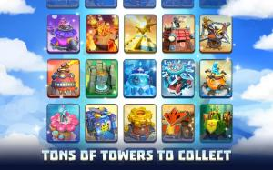 Wild Sky TD: Tower Defence in 3D Fantasy Kingdom 1.31.15 Screen 2