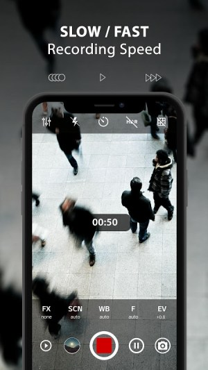 ProCam X ( HD Camera Pro ) 1.16 Screen 5