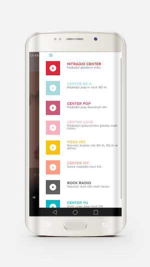 Android Hitradio Center Screen 1