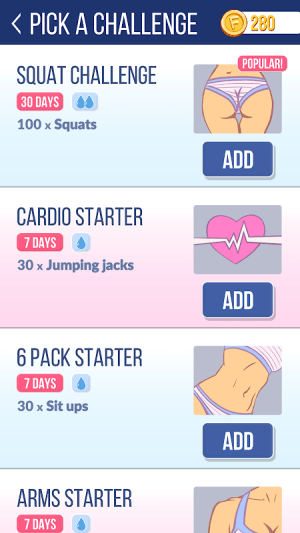 Fit Me - Fitness Challenge Tracker 1.1.1 Screen 5