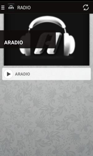 ARADIO 1.2.3.12 Screen 1