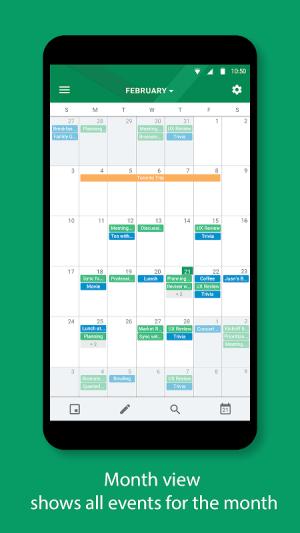 BlackBerry Hub+ Calendar 2.1910.0.17488 Screen 4