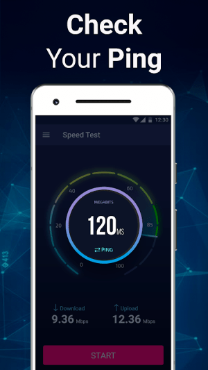 Android Speed Test - Internet Checker Screen 1