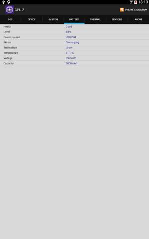CPU-Z 1.33 Screen 10