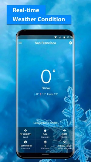 Android Local Weather Report Widget Screen 4