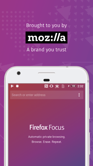 Firefox Focus: The privacy browser 8.0.25 Screen 2