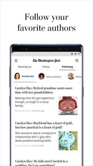 The Washington Post 5.9.1 Screen 1