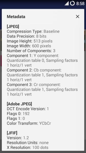 MiX Metadata (MiXplorer Addon) 1.10 Screen 1