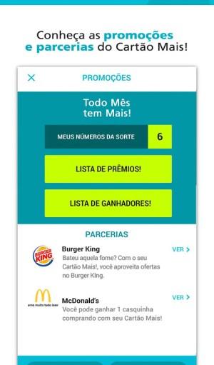 Android Cartão Mais! Screen 4