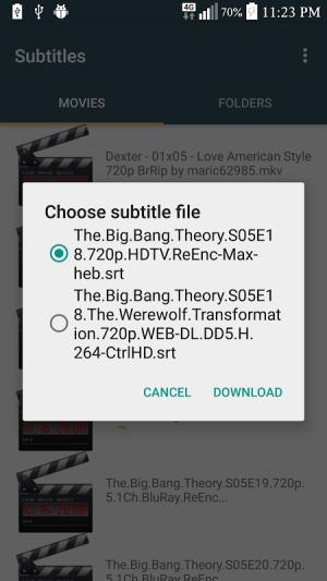 Subtitles 3.1 Screen 3
