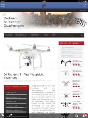 Android Drohnen Quadcopter Multicopter Screen 4
