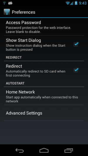 WiFi File Transfer Pro 1.0.9 Screen 7