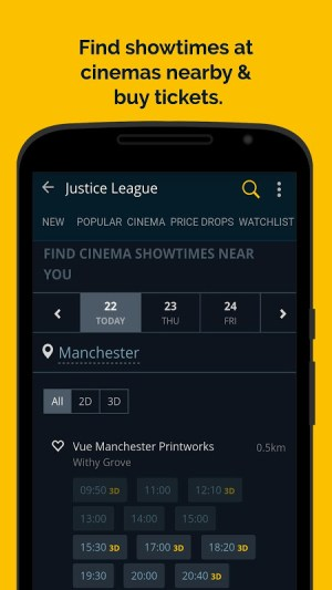 JustWatch - Search Engine for Streaming and Cinema 2.5.13 Screen 2