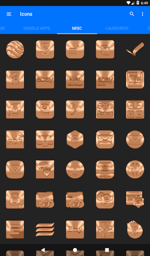 Android Sepia Icon Pack ✨Free✨ Screen 14