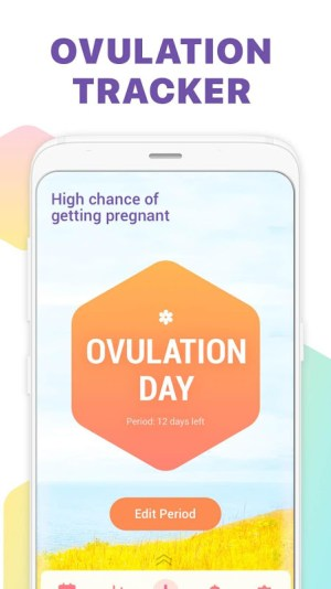 Period Tracker, Ovulation Calendar & Fertility app 1.41 Screen 2