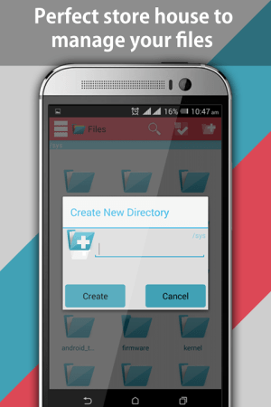 Android File Explorer and File Manager Screen 5