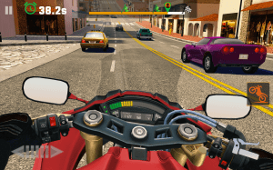 Android Moto Rider GO: Highway Traffic Screen 12