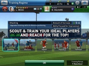 PES CLUB MANAGER 4.5.0 Screen 2