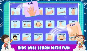 Baby Learning Human Body Parts 1.0.1 Screen 2