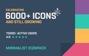 Minimalist - Icon Pack 1.2.4 Screen 14