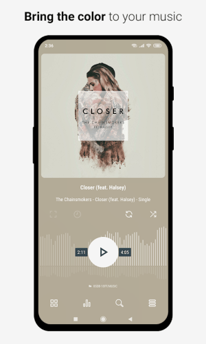 Aurora - Material Poweramp v3 Skin 2.7 Screen 5
