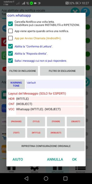 Free Notifications Reader from any App 7.01.00 Screen 11