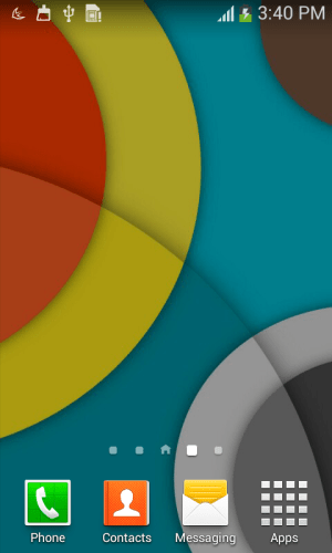 Android Material Design Wall Screen 2