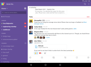 Slack 2.36.0 Screen 5