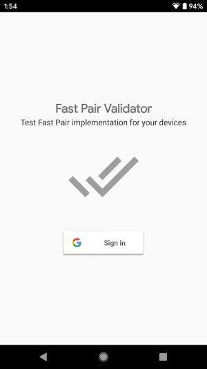 Fast Pair Validator 2.1.276011746 Screen 4