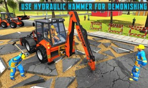Android excavator simulator 2018 Screen 2