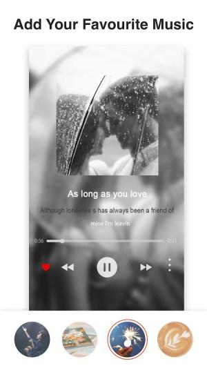 MV & Insta story maker with music 2020 - VidArt 3.0.166 Screen 1