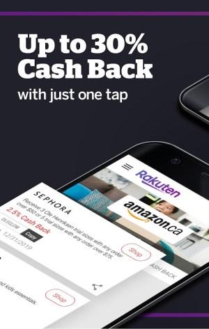Rakuten.ca Ebates - Cash Back Shopping & Coupons 7.1.2 Screen 3