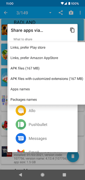 App Manager 5.5 Screen 4